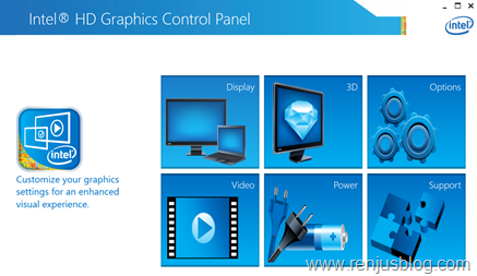 intel hd graphics control panel